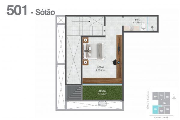 501 Sótão