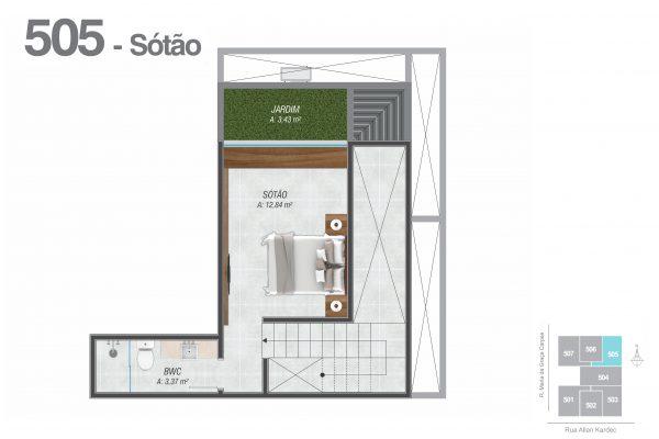 505 Sótão